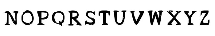 Acrylic Hand Serif SVG Regular Font LOWERCASE