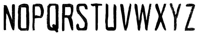 Acrylic Hand Tall Regular Font UPPERCASE