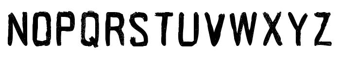 Acrylic Hand Tall Regular Font LOWERCASE