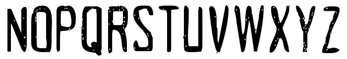 Acrylic Hand Tall SVG Regular Font UPPERCASE