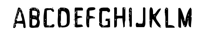 Acrylic Hand Tall SVG Regular Font LOWERCASE