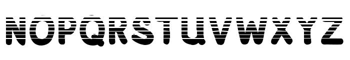 Adventura Speedol  Stripes Font UPPERCASE