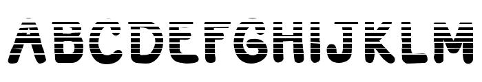 Adventura Speedol  Stripes Font LOWERCASE