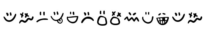 AdventuraLetter-Emo Font UPPERCASE