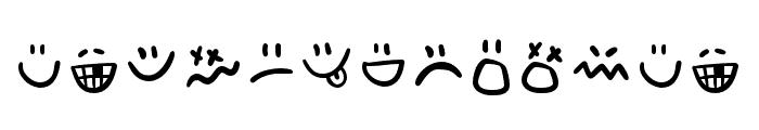 AdventuraLetter-Emo Font LOWERCASE