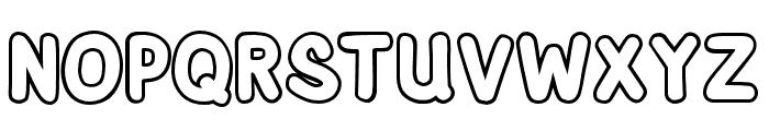 AdventuraSpeedol-Outline Font UPPERCASE