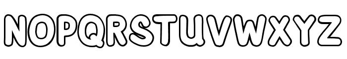 AdventuraSpeedol-Outline Font LOWERCASE