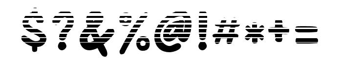 AdventuraSpeedol-Stripes Font OTHER CHARS