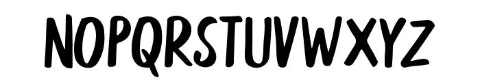 Aesthetic Regular Font UPPERCASE