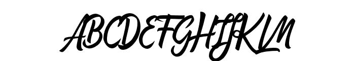 Affiliates Regular Font UPPERCASE