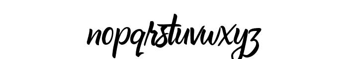 Affiliates Regular Font LOWERCASE