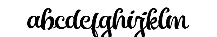 Almost Lover Script Font LOWERCASE