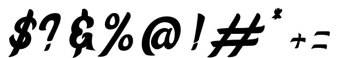 Aloha Font OTHER CHARS