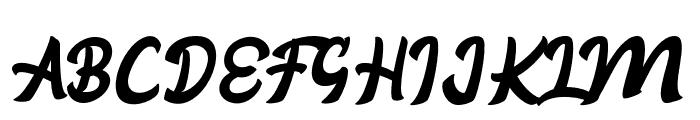 Aloha Font UPPERCASE