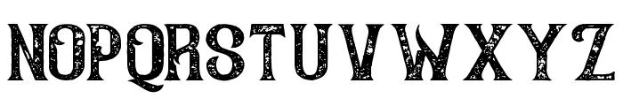 AmericanWhiskeyVintage Font UPPERCASE
