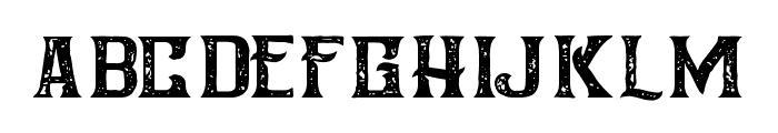 AmericanWhiskeyVintage Font LOWERCASE