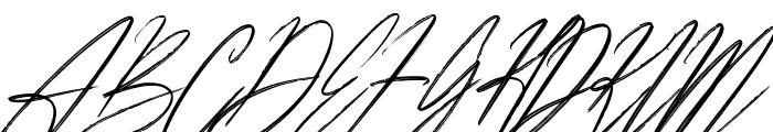 Americana Font UPPERCASE