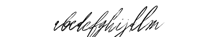 Americana Font LOWERCASE