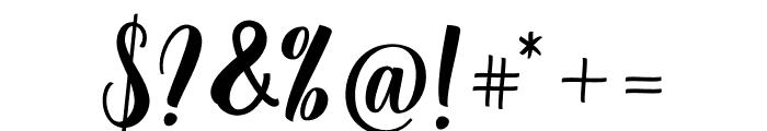Angela Script Font OTHER CHARS