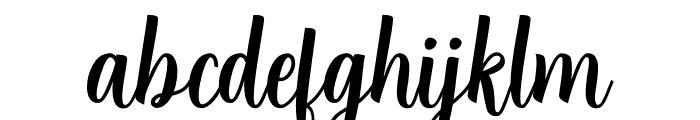 Angela Script Font LOWERCASE