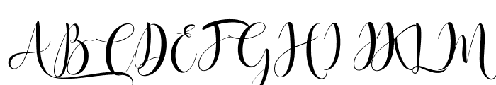 Angelica Font UPPERCASE