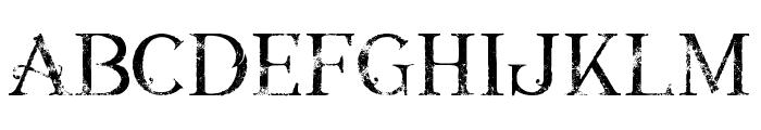 Annabel grunge Font LOWERCASE