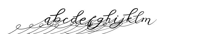 Anniversa 01 01 Font LOWERCASE