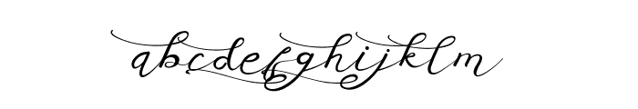 Anniversa 03 03 Font LOWERCASE