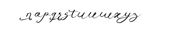 Anniversa 07 07 Font LOWERCASE