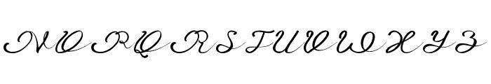 Anniversa 09 09 Font UPPERCASE