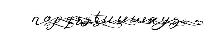 Anniversa 09 09 Font LOWERCASE