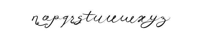 Anniversa05-05 Font LOWERCASE