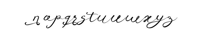 Anniversa07-07 Font LOWERCASE