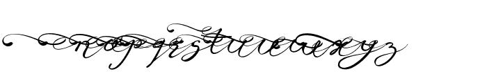 Anniversa08-08 Font LOWERCASE