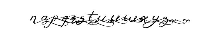 Anniversa09-09 Font LOWERCASE