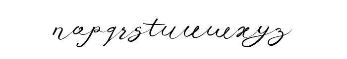 Anniversa10-10 Font LOWERCASE