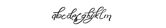 AnniversaNonConnect Font LOWERCASE