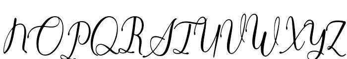 Anthony2 Font UPPERCASE