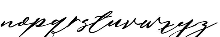 AnthonyScript Font LOWERCASE