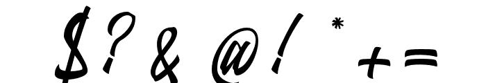 Antigitous Font OTHER CHARS