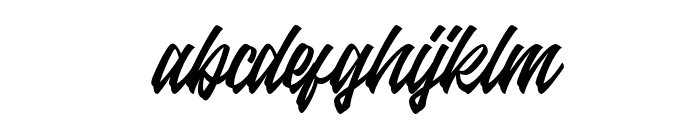 Antigitous Font LOWERCASE
