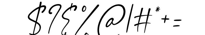Asmiyati Italic Font OTHER CHARS