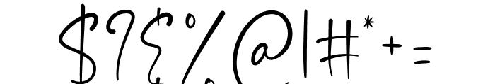 Asmiyati Font OTHER CHARS