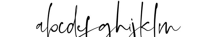 Asmiyati Font LOWERCASE