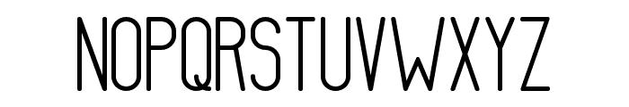 AthleticaSans-Bold Font UPPERCASE