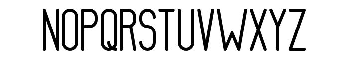 AthleticaSans-Heavy Font UPPERCASE