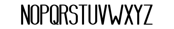 AthleticaSans-HeavyExpanded Font UPPERCASE