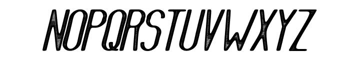 AthleticaSans-Letterpress Font UPPERCASE