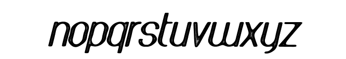 AthleticaSans-Letterpress Font LOWERCASE