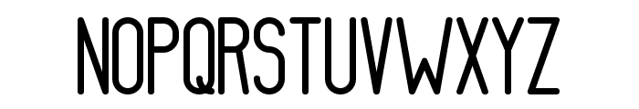 AthleticaSans-Medium Font UPPERCASE